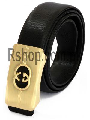 Gucci Mens Golden Buckle Belt Price in Pakistan