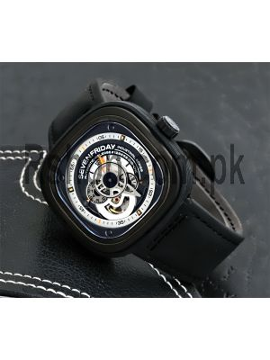 SEVENFRIDAY P1-B-1 INDUSTRIAL ESSENCE Black Automatic Original Machine Watch Price in Pakistan