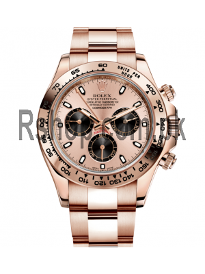 Rolex Oyster Perpetual Cosmograph Daytona Watch Everose Price in Pakistan