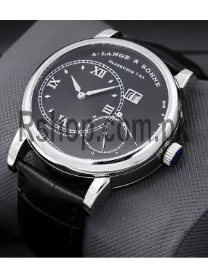 A. Lange & Sohne Grand Lange 1 Black Watch Price in Pakistan