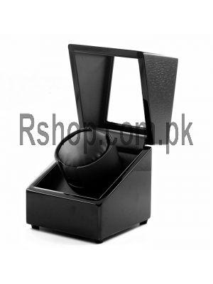 Wooden Watch Winder Box Black Price in Pakistan