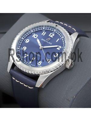 Breitling Aviator 8 Blue Watch Price in Pakistan