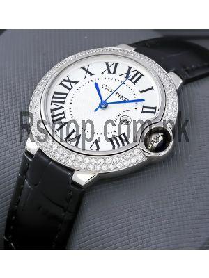 Cartier Ballon Bleu Diamond Watch Price in Pakistan