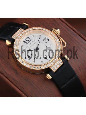 Cartier Pasha Diamond Bezel Ladies Watch Price in Pakistan