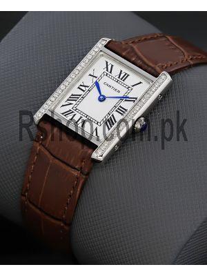 Cartier Tank Diamond Watch Price in Pakistan