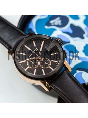 Gucci G-Chrono Black Dial Men Watch Price in Pakistan