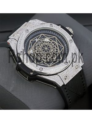 Hublot Big Bang Sang Bleu Watch Price in Pakistan