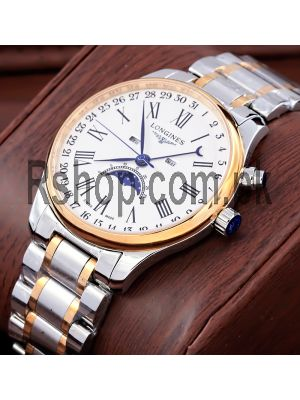 Longines Master Collection Moonphase Two Tone Watch Price in Pakistan