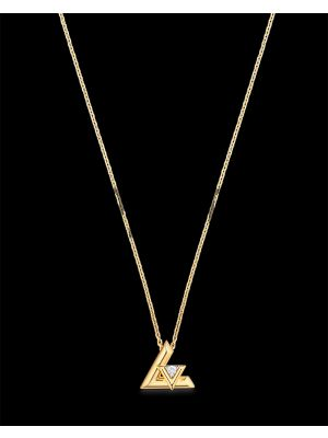 LV Volt One Small Pendant, YellowGold And Diamond Necklace Price in Pakistan