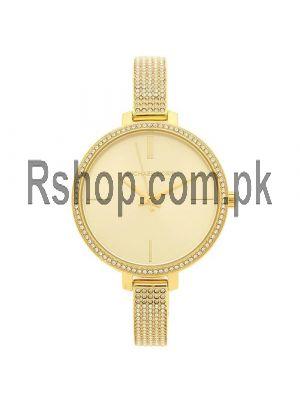 Michael Kors Jaryn Crystal Gold Sunray Dial Ladies Watch Price in Pakistan
