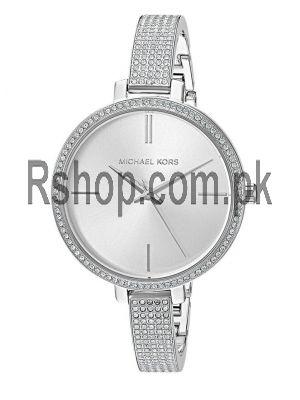 Michael Kors Jaryn Silver Dial Ladies Watch Price in Pakistan