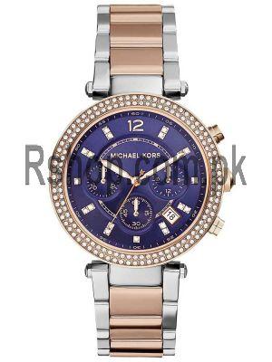 Michael Kors Women's MK6141 Parker Round Two-tone Bracelet Watch Price in Pakistan