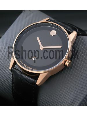 Movado Bold Black-Rose Gold Watch Price in Pakistan