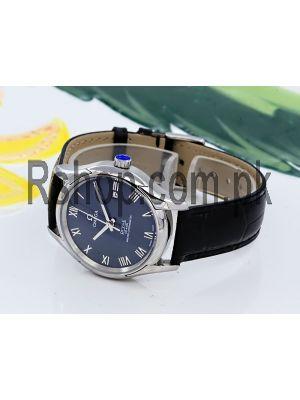 Omega De Ville Prestige Men's Wrist Blue Dial Watch Price in Pakistan