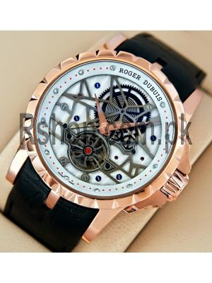 Roger Dubuis Excalibur Flying Tourbillon Mens Watch Price in Pakistan