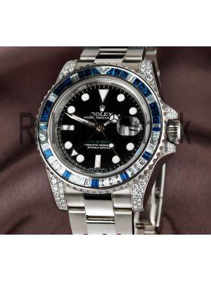 Rolex GMT Master II Diamond Bezel Watch Price in Pakistan