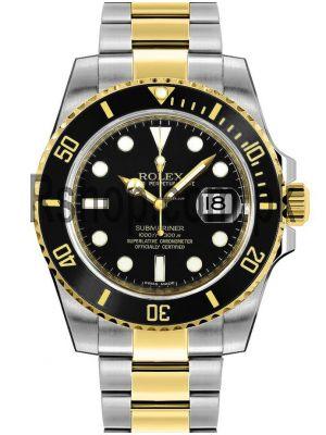 Rolex Submariner Two Tone Ladies Watch Price in Pakistan