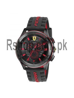 Scuderia XX Ferrari Carbon Fibre Chronograph Watch Red Price in Pakistan