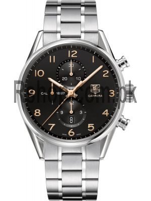 Tag Heuer  Carrera 43mm Calibre 1887 Chronograph Watch Price in Pakistan