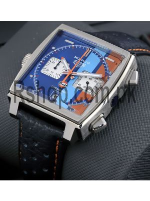 Tag Heuer Monaco Calibre 11 Chronograph Gulf Special Edition Watch Price in Pakistan