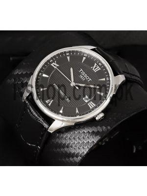 Tissot Powermatic 80 Black Dial Men's Watch Price in Pakistan
