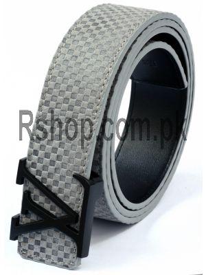 Louis Vuitton Grey Replica Belt Price in Pakistan