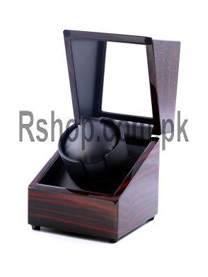 Wooden Watch Winder Box Brown Price in Pakistan