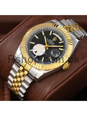 Rolex Day-Date Two tone Watch